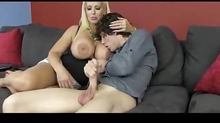 Young gentleman wants moms beamy titties