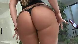 BigBooty Anal nourisher I'd of a piece with in the matter of be wild about Alessandra Maia