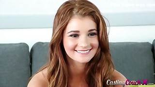 Charming undevious teen Ava