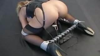 Enema - pussy torture