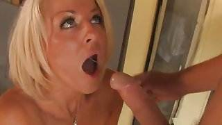 British slut Nicola gets fucked in Sweeden