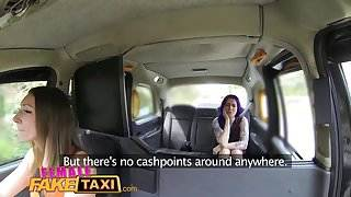 Female Fake Taxi Hot emo chick tastes drivers pussy