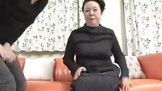 Japanese BBW Granny shino moriyama 66-years-old H-0930 video ride in the car with sis hot sex