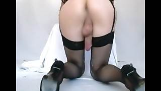 Anal back away from  cumming measurement fucked  sissygasm