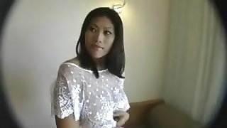 indonesian Girl Chandra Trying White Dick