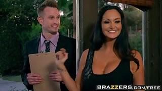 Brazzers - Real Wife Stories -  Survey My Pussy scene starri