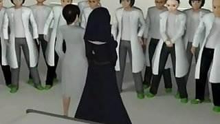 Anime Japanese nun