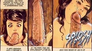 Giant Cock Hard Sex Comics