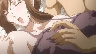 HentaiAnime.Sexy Pretty Wife Fucked Hard and Creampied