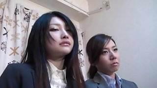 Japanese Girls Mesmerized