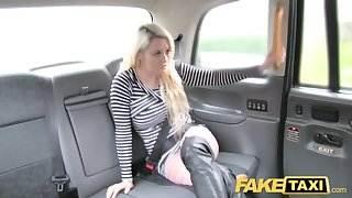 Fake Taxi crazy sex for blonde in fishnets anal rimming hot bear sex video
