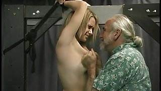 Blonde with hot pierced tits gets tortured infidelity sex hot hd video