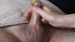 small cock handjob