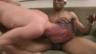 White Guy Just Loves 2 Big Black Cocks