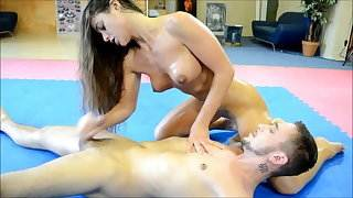 hot athletic girl beats guy and blows him straight gay porn videos