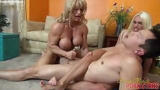 Two Muscle Women and One Guy free amature homemade porn videos