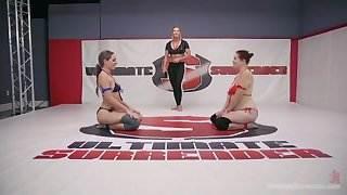 Savannah Fox vs Johnny Starlight in Big Booty Jam