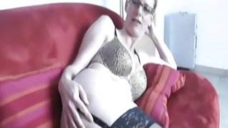 german mature gets fucked into ass