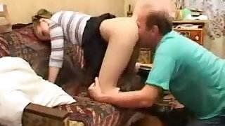 Young Mistress And His Slave - Pussy Eating