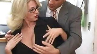 Mature secretary gets cum on her big tits pov sex x video hot sexy