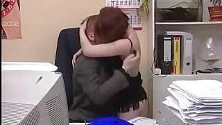 Boss Is Fucking His Shy Redheaded Secretary Part1