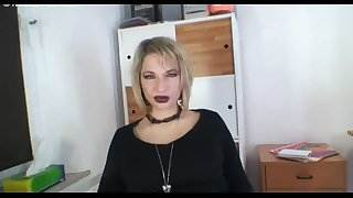 Nicole sexy MILF secretary needs cum in