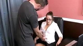 Stepmom Gets Fucked In Pantyhose