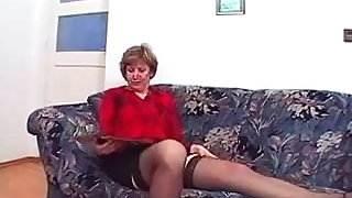 Nice Nipples Mature in Stockings Fucks porn videos orgies