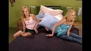 Teen Milton twins in fucking machines