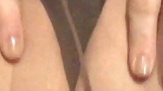 Pantyhose Pussy Show