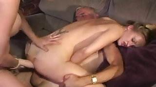 Friend&#039,s Mom Makes Teen Take Old Man&#039,s Cock Up Ass