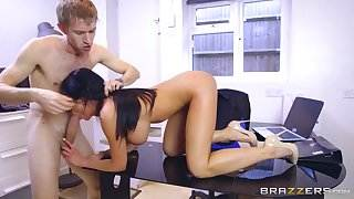 Patty Michova & Danny D in The Window Watcher - Brazzers