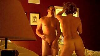 Pure joy of Cuckold MILF Housewife With Young bull