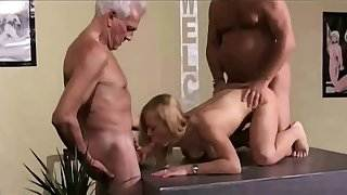 Vintage Old Young Teenie Girl Fucked grey hair grandpas