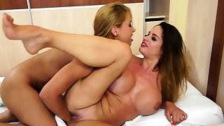 Lesbian milf fisted with two hands by beauty