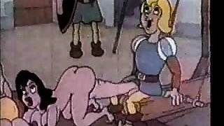 Vintage cartoon sex