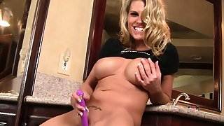 Charisma Cappelli Dildoes Her Ass