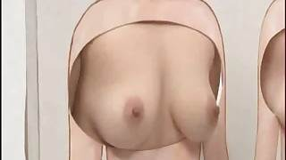 Japanese dealings about a invite in hot babes acquiring some
