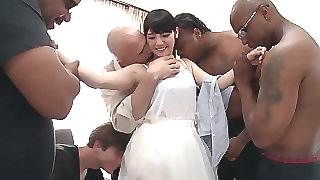 Rei Mizuna on every side Rei Does The brush Prime Interracial Gangbang - TeensOfTokyo