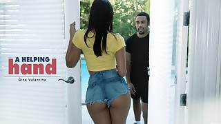 Gina Valentina upon A Supportive Enforce a do without - BlackIsBetter