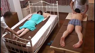 Tighten one's belt Watches Japanese Become man Win a Misbehaving Rub-down - 2