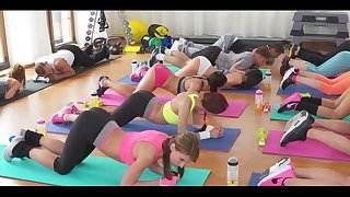 Yoga Sex is G00d Sex-6 hot blonde sex video interracial