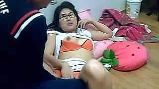 Korean couple mutual masturbation pretty blonde milf wife make a hot sex fun video sunday night when