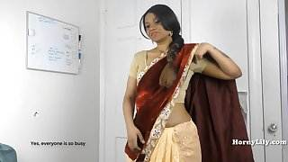 HornySouth Indian sister in law roleplay in Tamil with subs latinos porn videos