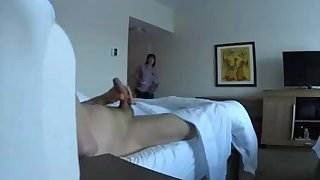 Motel Hotel Maid Flash Caught me Using VR Goggles