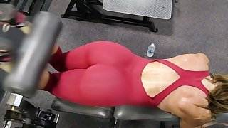 yes!!! fitness hot ASS hot CAMELTOE 80